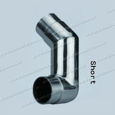 ステンレス鋼の円形の管の内部階段コーナーの余分長さのコネクター - 角度はカスタマイズすることができます - ステンレス鋼の円形の管の内部階段コーナーの余分長さのコネクター - 角度はカスタマイズすることができます