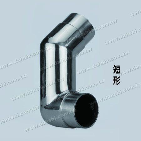 不銹鋼圓管套外樓梯轉角用加長型接頭 - 可訂做角度 - 不銹鋼圓管套外樓梯轉角用加長型接頭 - 可訂做角度