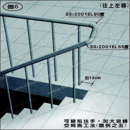 Illustration:Stainless Steel Round Tube Internal 65degree Extra Length Elbow