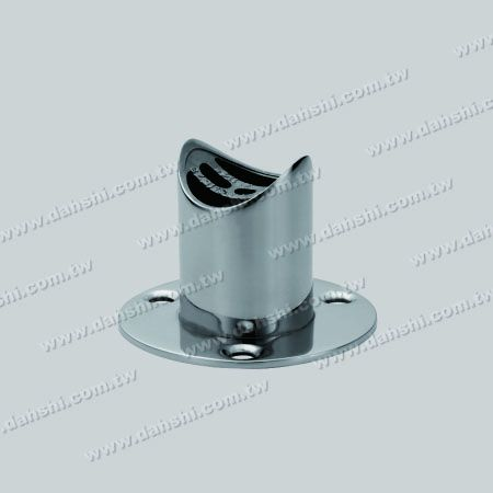 S.S. Round Tube Handrail Support - Stainless Steel Round Tube Handrail Support - Screw Invisible