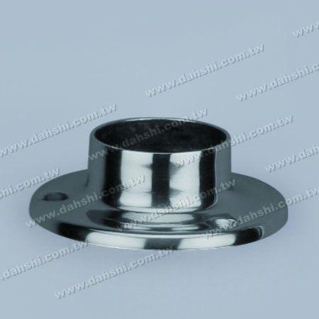 एसएस राउंड ट्यूब राउंड बेस प्लेट - स्टेनलेस स्टील गोल ट्यूब गोल बेस प्लेट