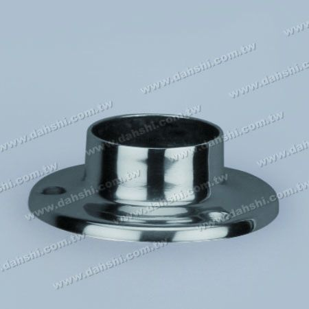 S.S. Round Tube Round Base Plate - Stainless Steel Round Tube Round Base Plate