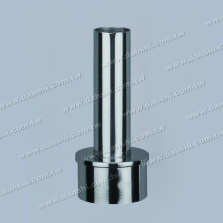 S.S. Round Tube Handrail Perp. Post Connector Reducer Flat - Stainless Steel Round Tube Handrail Perpendicular Post Connector Reducer Flat