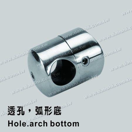 S.S. Tube/Bar Holder Go Through - Stainless Steel Tube/Bar Holder Go Through