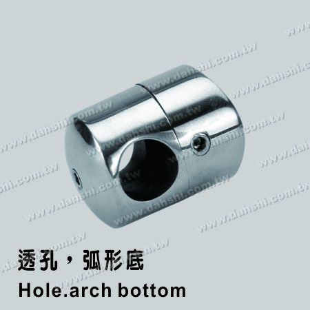 S.S. Tube/Bar Holder Go Through - Stainless Steel Tube/Bar Holder Go Through