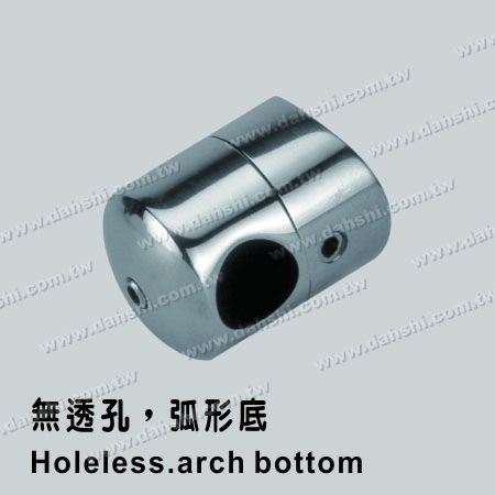 S.S. Tube/Bar Holder Close End - Stainless Steel Tube/Bar Holder Close End