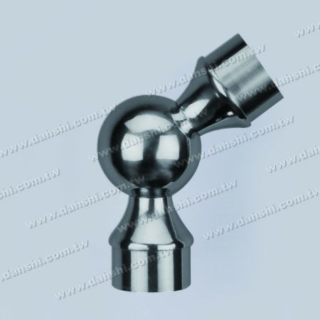 S.S. Round Tube Internal 135degree Ball Connector - Stainless Steel Round Tube Internal 135degree Ball Connector