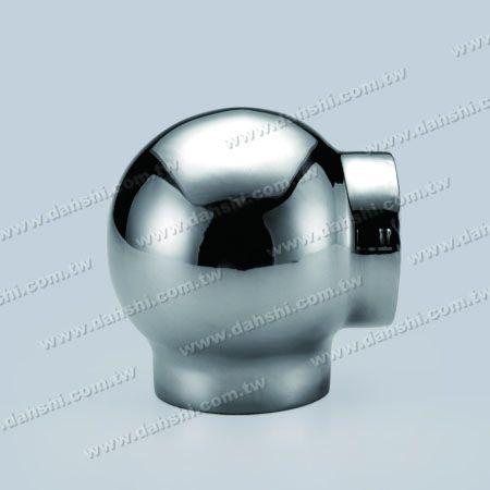 Круглая трубка из нержавеющей стали Внешняя соединительная деталь 90-градусного шарика - Штамповка выполнена