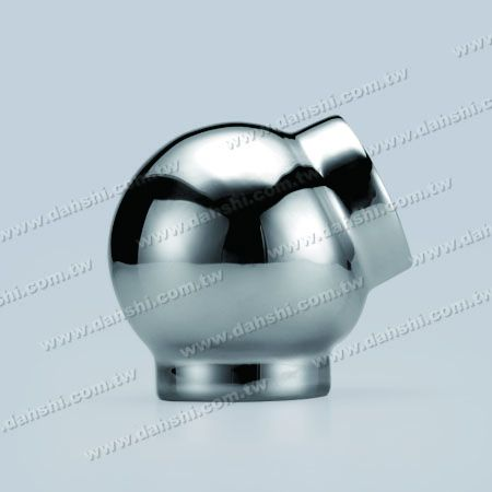 S.S. Round Tube External 135degree Ball Connector - Stainless Steel Round Tube External 135degree Ball Connector - Stamping Made