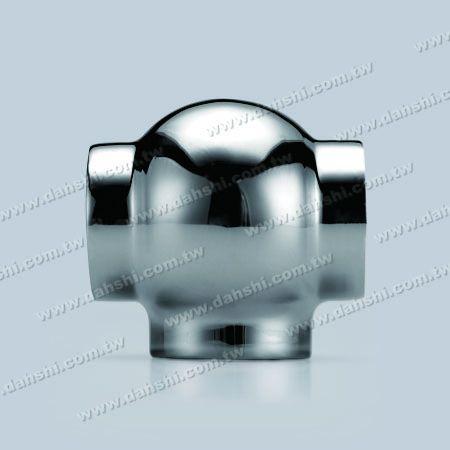 Paslanmaz Çelik Yuvarlak Boru Dış T Bağlayıcı Top Tipi - Damgalama Made - Paslanmaz Çelik Yuvarlak Boru Dış T Bağlayıcı Top Tipi - Damgalama Made