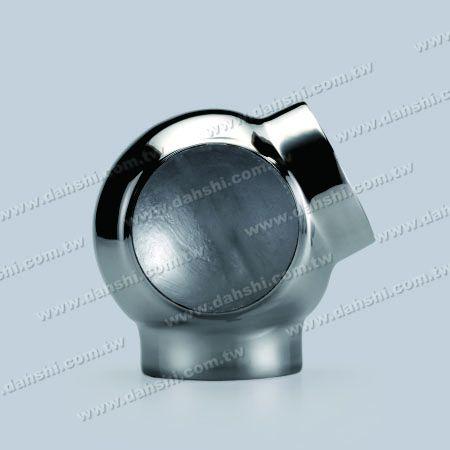 Труба из нержавеющей стали с круглой трубкой Внешняя соединительная труба с 3-контактным выходом 3-х сторон - Труба из нержавеющей стали с круглой трубкой Внешняя соединительная труба с 3-контактным выходом 3-х сторон