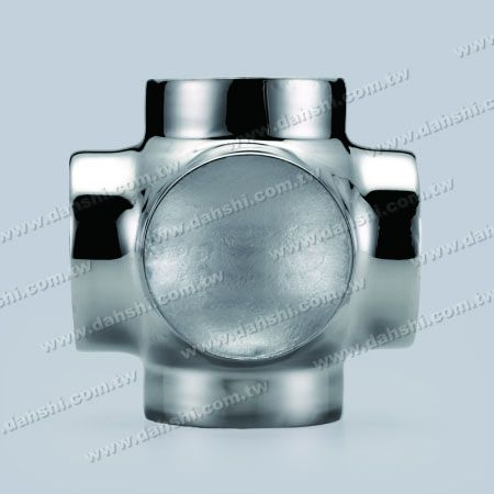 S.S. Round Tube External Ball Connector 5 Way Out - Stainless Steel Round Tube External Ball Connector 5 Way Out - Stamping Made