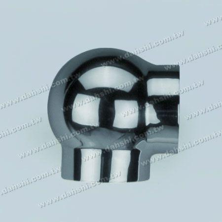 Круглая трубка из нержавеющей стали Внешняя соединительная деталь 90-градусного шара - отливка