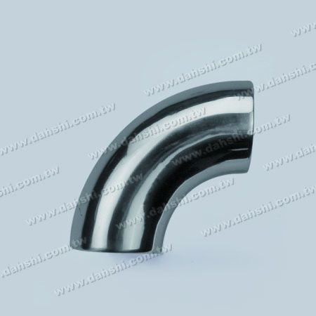 Stainless Steel Round Tube External 90degree Elbow Bend