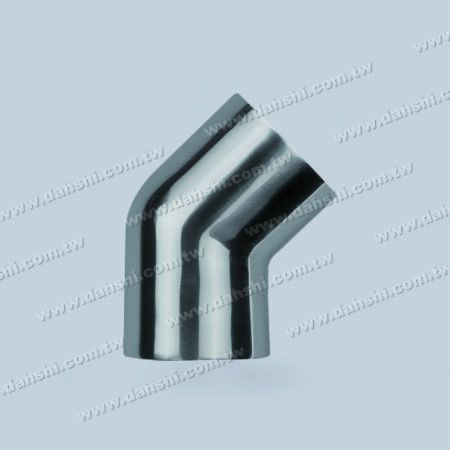 Stainless Steel Round Tube External 135degree Connector - Angle Can Be Customized - Stainless Steel Round Tube External 135degree Connector - Angle Can Be Customized