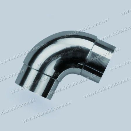 एसएस गोल ट्यूब आंतरिक 90 डिग्री कोहनी मोड़ - स्टेनलेस स्टील गोल ट्यूब आंतरिक 90 डिग्री कोहनी मोड़