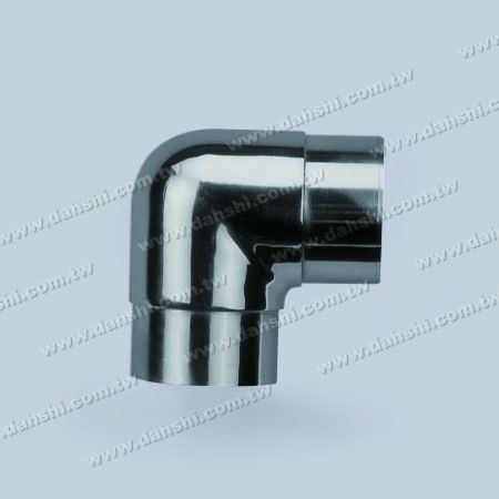 Stainless Steel Round Tube Internal 90degree Elbow Round Corner