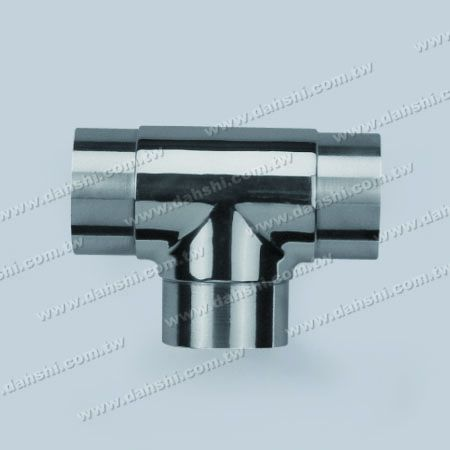 S.S. Round Tube Internal T Connector - Stainless Steel Round Tube Internal T Connector