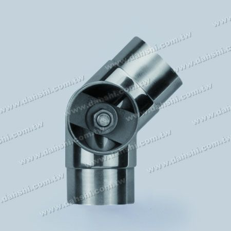 S.S. Round Tube Internal 135° 3 Way Out Conn. - Stainless Steel Round Tube Internal 135degree 3 Way Out Connector