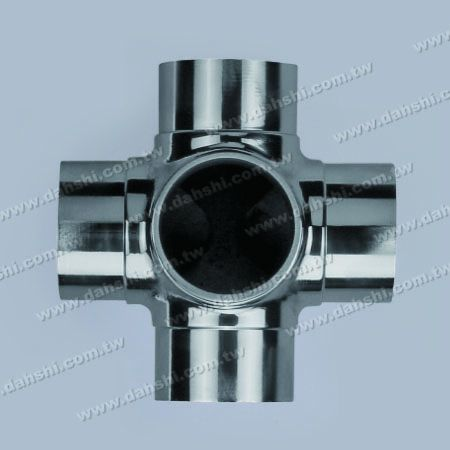 S.S. Round Tube Internal Connector 5 Way Out - Stainless Steel Round Tube Internal Connector 5 Way Out