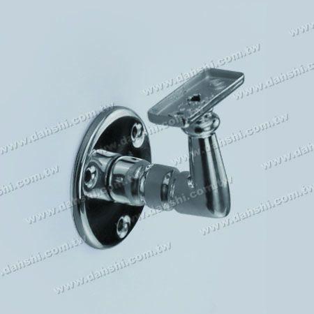 Tabung Persegi Panjang atau Braket Dinding Rel Kayu - Braket Terbuka Sekrup - Tabung Persegi Panjang atau Braket Dinding Rel Kayu