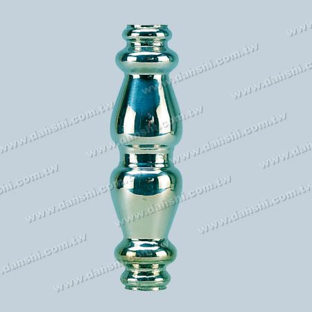 12mm Round Tube Accessory Short Swaging Decorative Tube - 12mm Round Tube Accessory Short Beam Decorative Tube  ( SS:324)