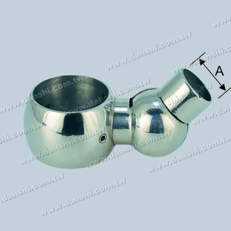 S.S. Tube and Bar Connector Angle Adj. - Stainless Steel Tube and Bar Connector Angle Adjustable