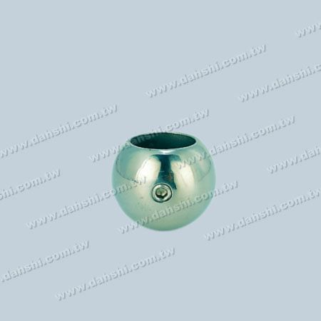 Stainless Steel Round Tube/Bar Ball Type End Cap - Stainless Steel Round Tube/Bar Ball Type End Cap