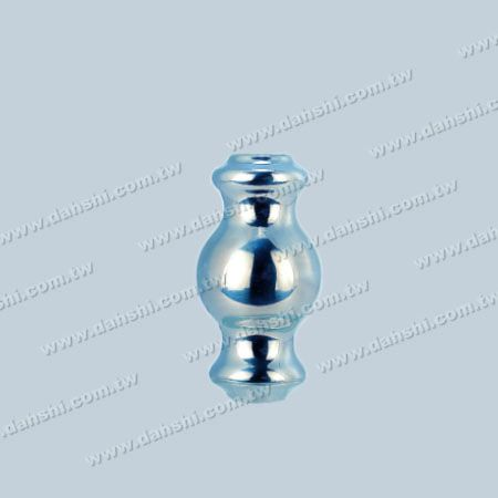12mm Round Tube Accessory Decorative Candy Shape Ball - 12mm Round Tube Accessory Decorative Candy Shape Ball ( SS:333)
