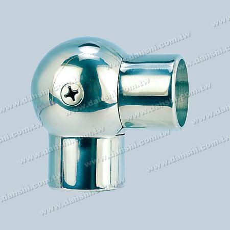 不銹鋼圓管插內圓型活動彎頭 - 不銹鋼圓管插內圓型活動彎頭