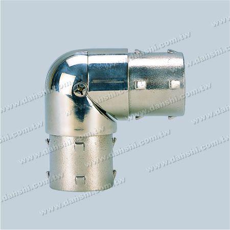 S.S. Round Tube Internal Elbow Angle Adj. - Stainless Steel Round Tube Internal Elbow Angle Adjustable