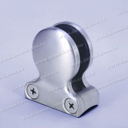 S.S. Glass Clamp Drop Shape - Stainless Steel Glass Clamp Drop Shape - No Need to Drill Hole on Glass