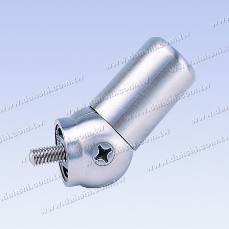Stainless Steel Tube and Bar Connector Angle Adjustable Flat Back - Stainless Steel Tube and Bar Connector Angle Adjustable Flat Back
