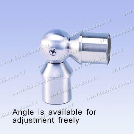 不銹鋼圓管套外活動彎頭 - 球型 - 不銹鋼圓管套外活動彎頭 - 球型
