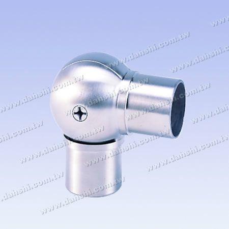 不銹鋼圓管套外活動彎頭 - 圓型 - 不銹鋼圓管套外活動彎頭 - 圓型