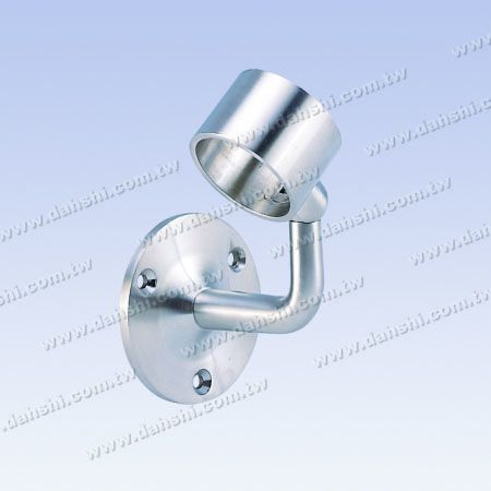 Screw Exposed Bracket - Internal Round Tube Handrail Wall Bracket - Angle Adjustable - Screw Exposed Bracket - Internal Round Tube Handrail Wall Bracket - Angle Adjustable