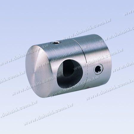 S.S. Tube/Bar Holder Go Through Flat Back - Stainless Steel Tube/Bar Holder Go Through Flat Back