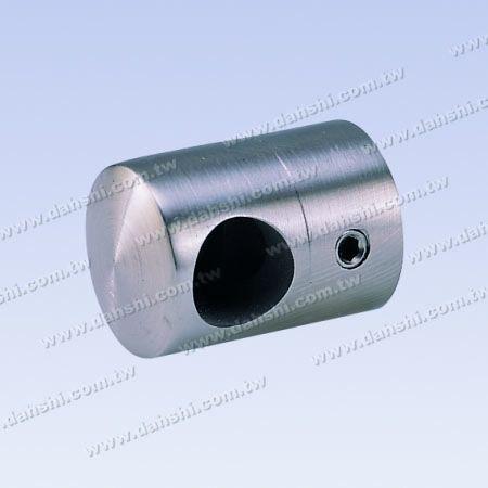 S.S. Tube/Bar Holder Close End Flat Back - Stainless Steel Tube/Bar Holder Close End Flat Back