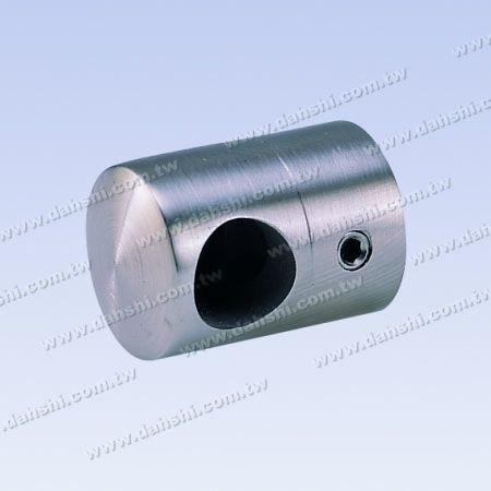 S.S. Tube/Bar Holder Close End Flat Back - Stainless Steel Tube/Bar Holder Close End Flat Back