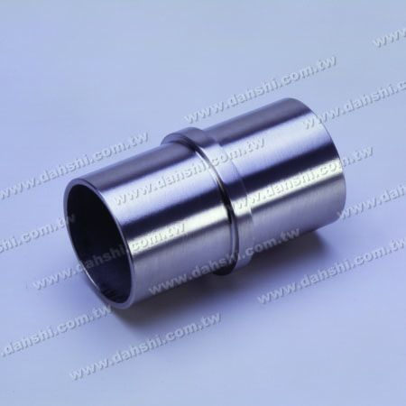 S.S. Round Tube Internal Line Connector - Stainless Steel Round Tube Internal Line Connector