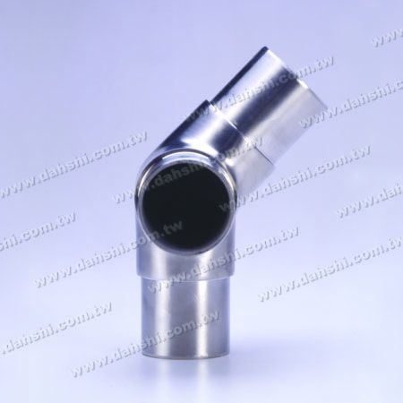 SS Round Tube Internal 135 ° 3 Konektor Keluar - Stainless Steel Round Tube Internal 135degree 3 Way Out Connector