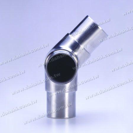 Нержавеющая сталь Круглый Внутренний 135-градусный 3-контактный разъем - Нержавеющая сталь Круглый Внутренний 135-градусный 3-контактный разъем
