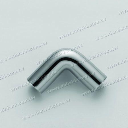 不銹鋼圓管插內90度彎頭 - 小弧度 - 不銹鋼圓管插內90度彎頭 - 小弧度