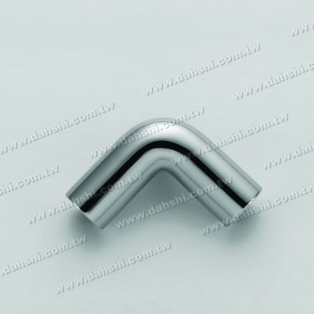 Круглая трубка из нержавеющей стали Внешняя 90-градусная стойка колена - Малый угол