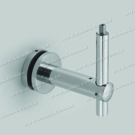 S.S. Bracket for Glass Height Adjustable - Stainless Steel Bracket for Glass Height Adjustable
