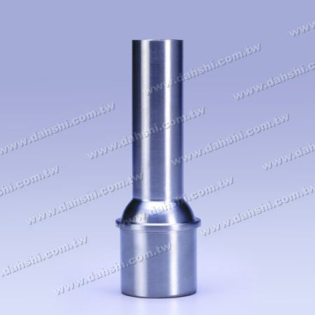 S.S. Round Tube Handrail Perp. Post Connector Reducer Dome - Stainless Steel Round Tube Handrail Perpendicular Post Connector Reducer Dome