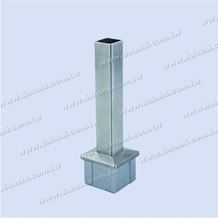Stainless Steel Square Tube Handrail Perpendicular Post Connector Reducer Flat - Stainless Steel Square Tube Handrail Perpendicular Post Connector Reducer Flat