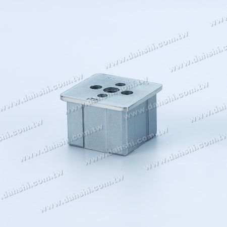 S.S. Square Tube Handrail Connector External Fit - Stainless Steel Square Tube Handrail Connector External Fit