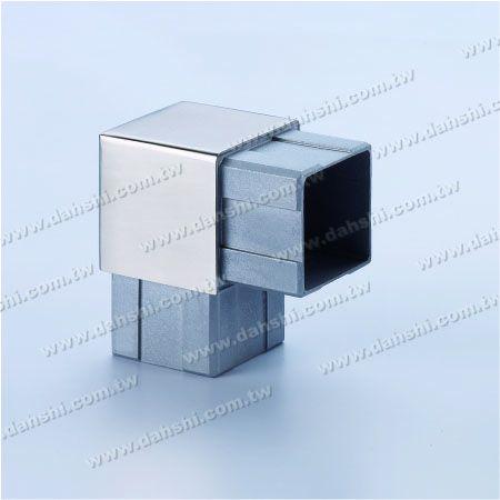 Нержавеющая сталь квадратная труба внутренний 90 градусов разъем