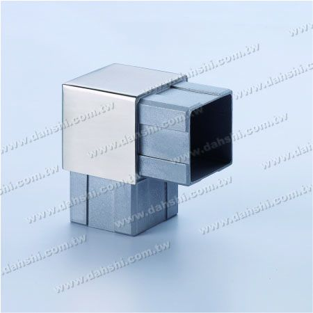 S.S. Square Tube Internal 90° Connector - Stainless Steel Square Tube Internal 90degree Connector